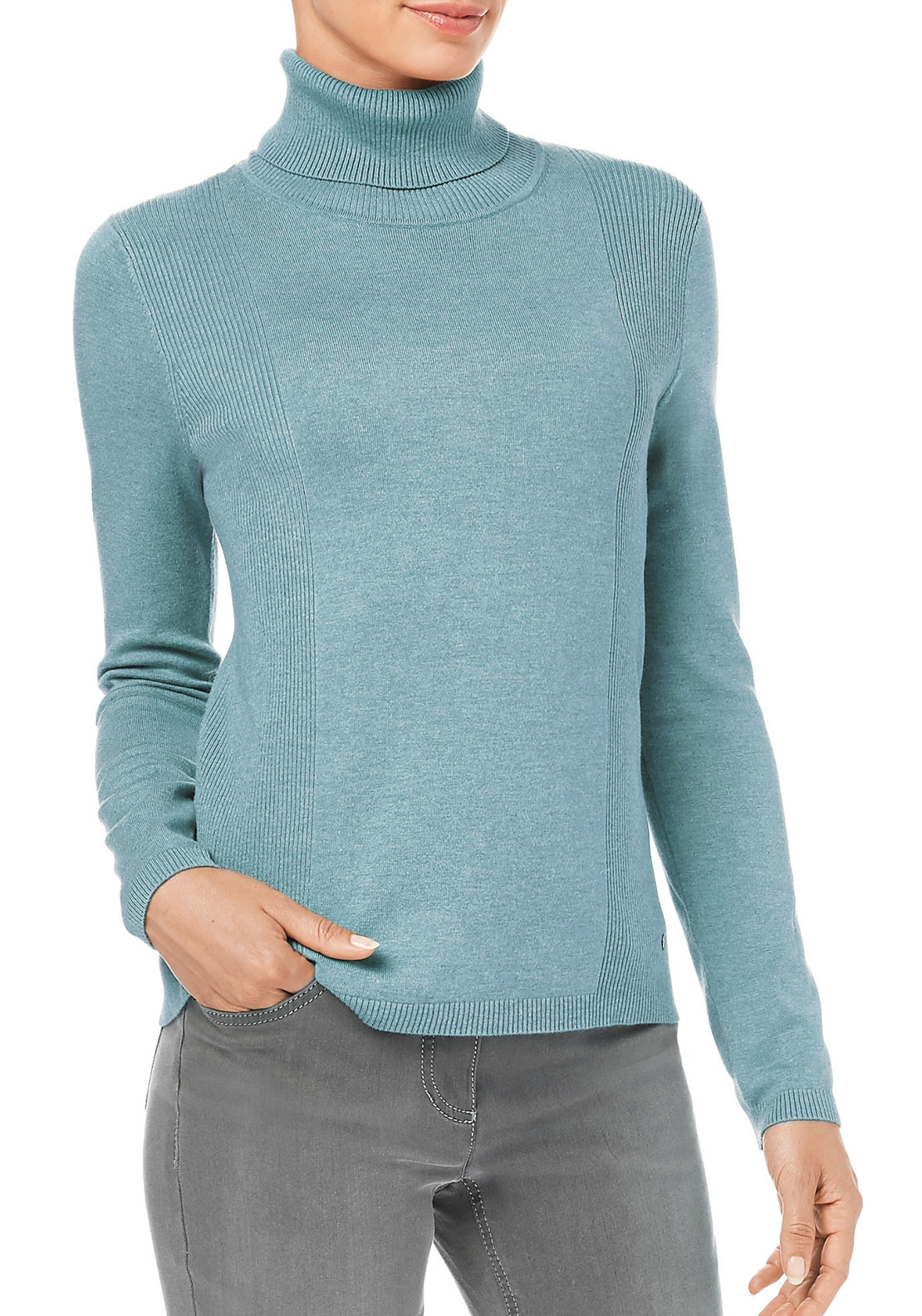 Gerry Weber Fine Knit Sweater, Duckegg Blue