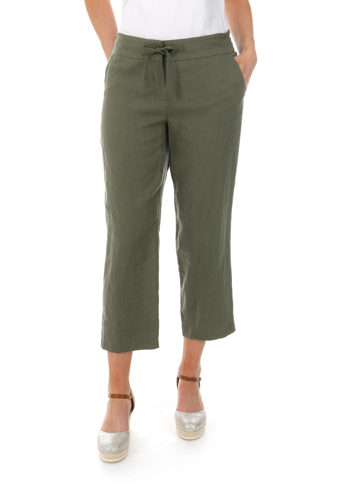 Cargo trousers green female Gerry Weber eCAC5W