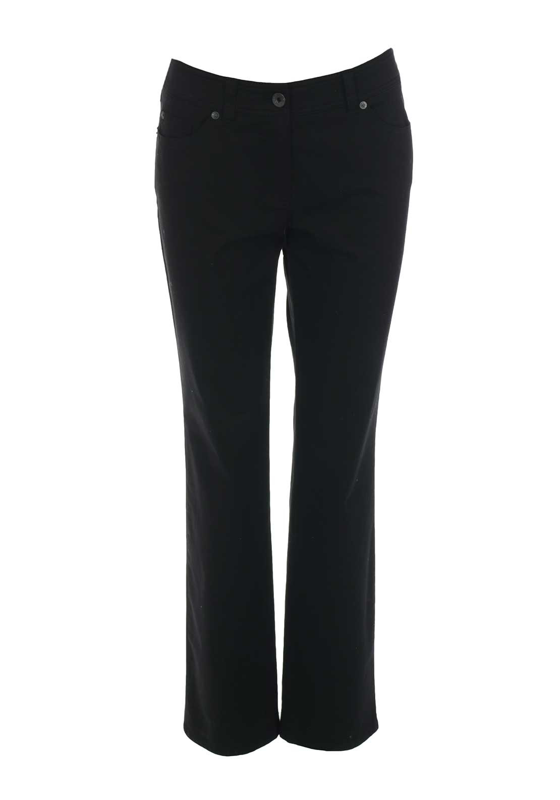 Gerry Weber Danny Regular Leg Jeans, Black