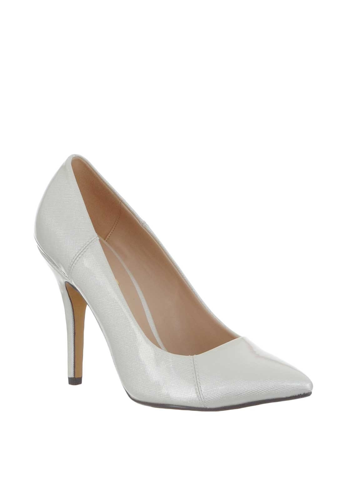 b1267fc3721 Glamour Carrie Patent Pointed Heeled Shoes
