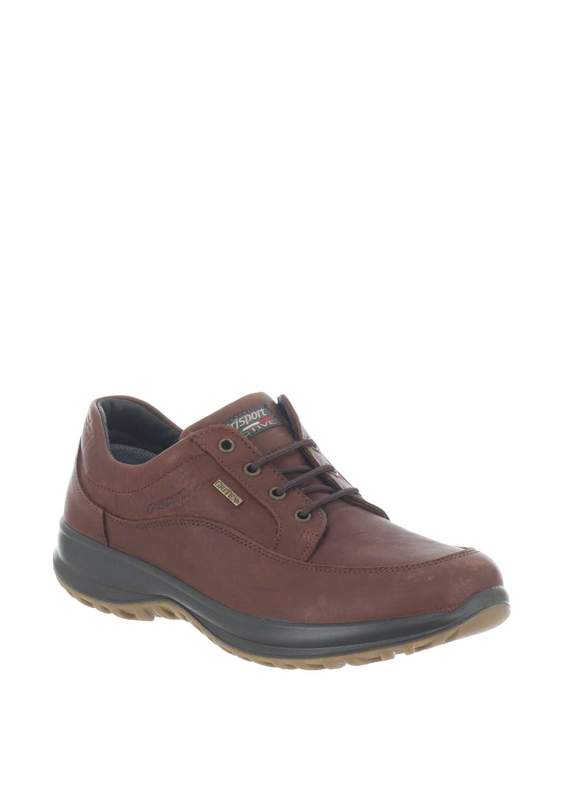 d3aea698a99 Grisport Mens Livingston Walking Shoe, Brown