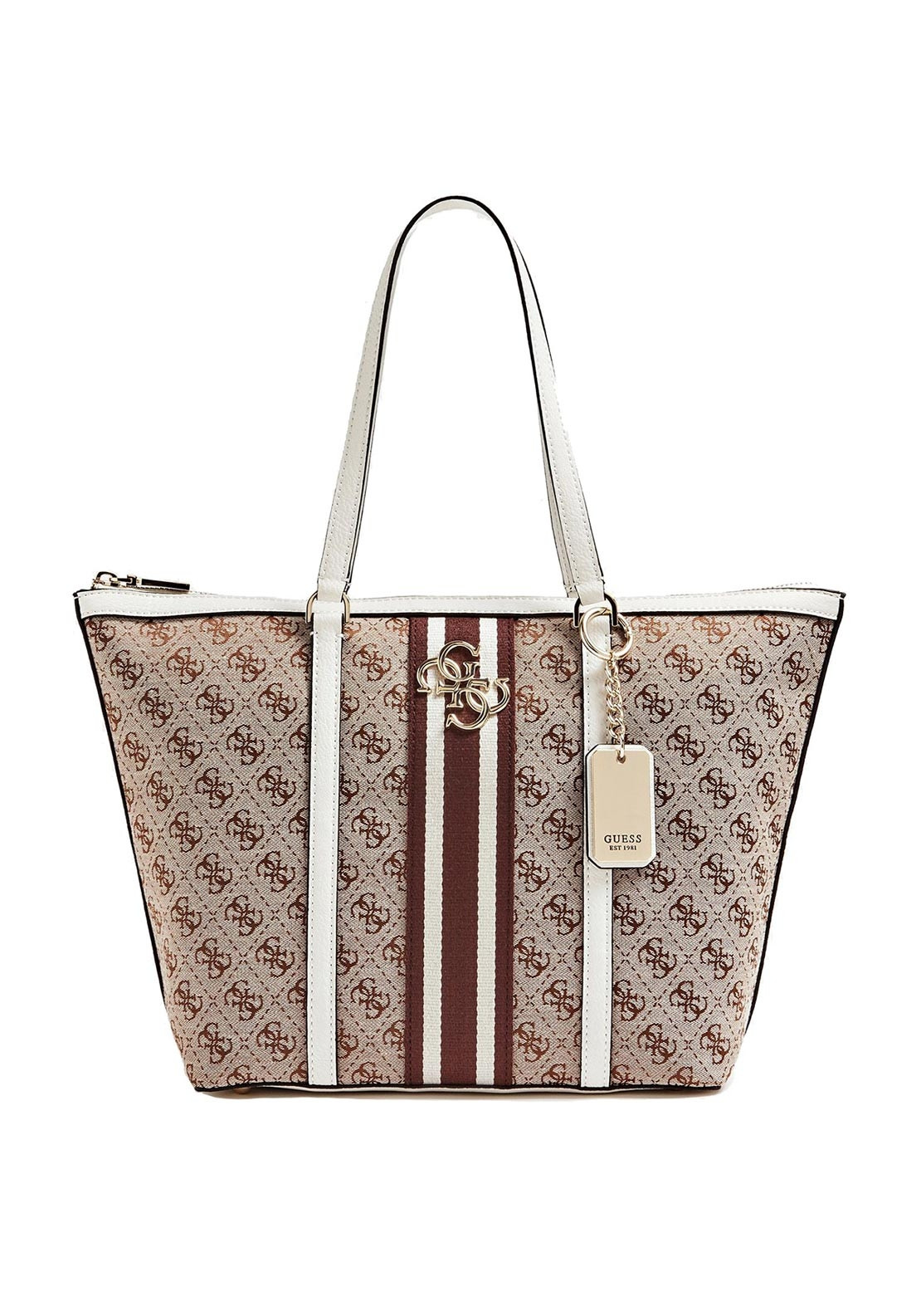 aed5788a511 Guess Vintage Tote Bag, White