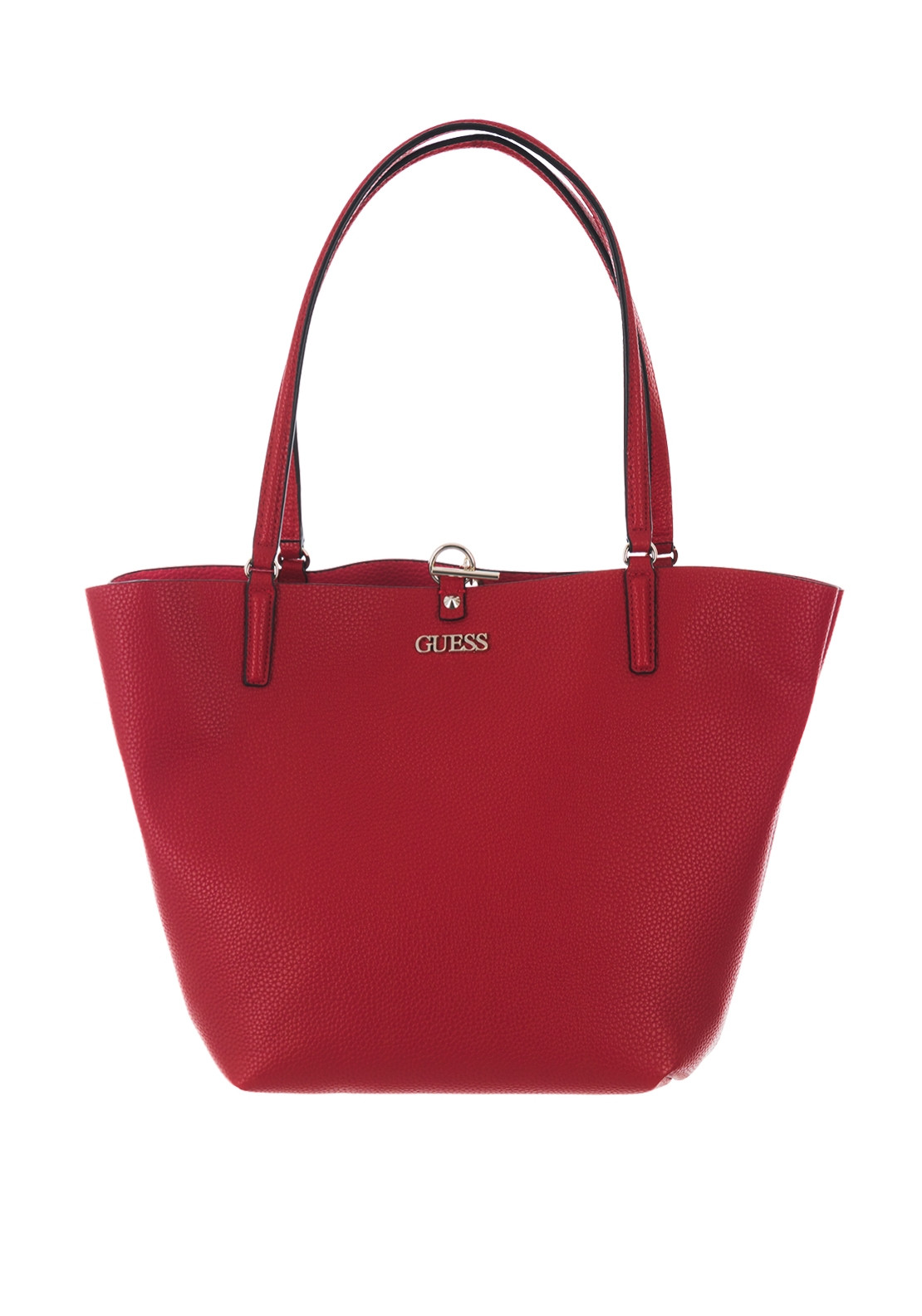 adcccb26 Guess Alby Tote Bag with Shoulder Bag, Lipstick | McElhinneys