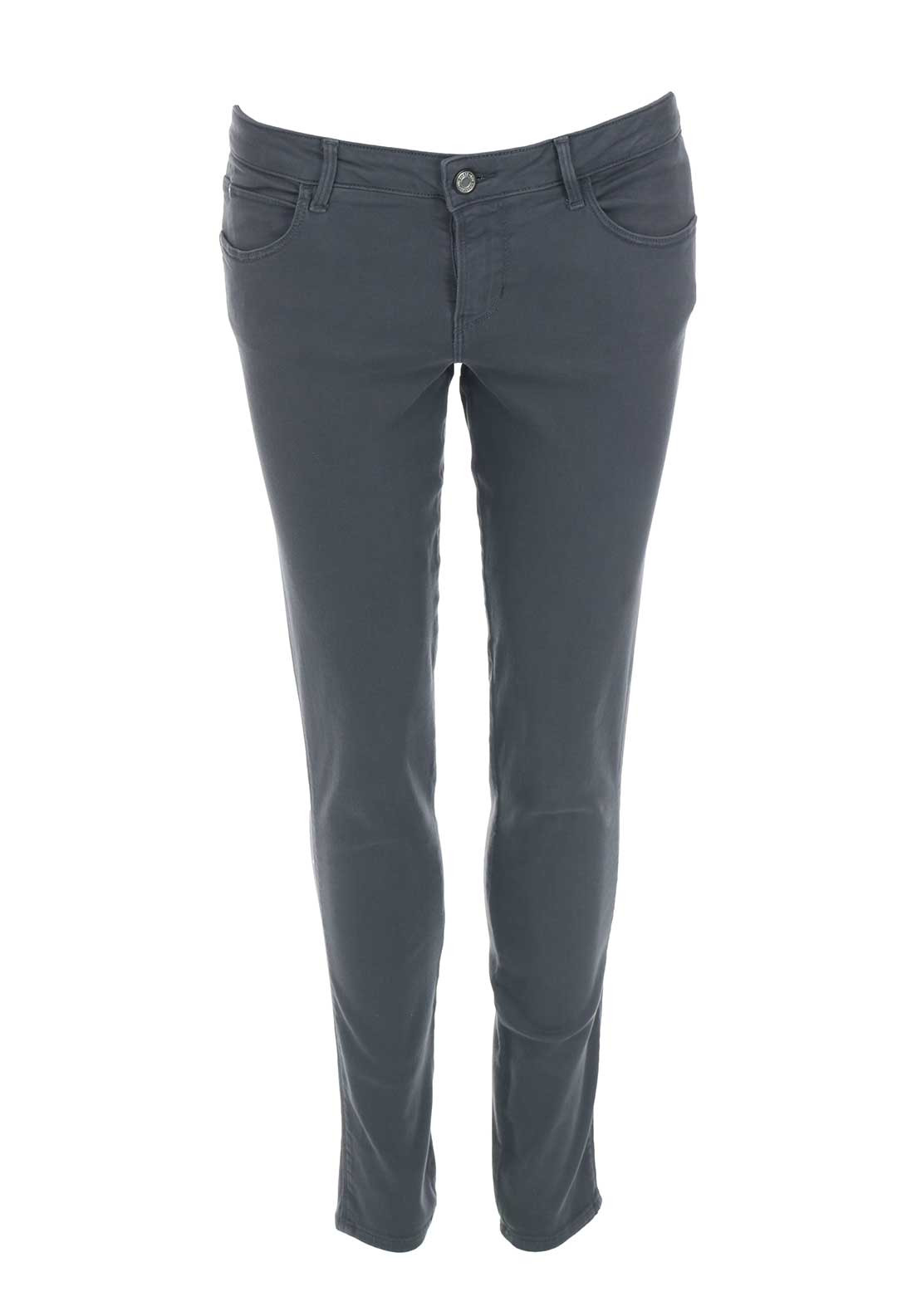 Guess Womens Push Up Skinny Jeans, Grey