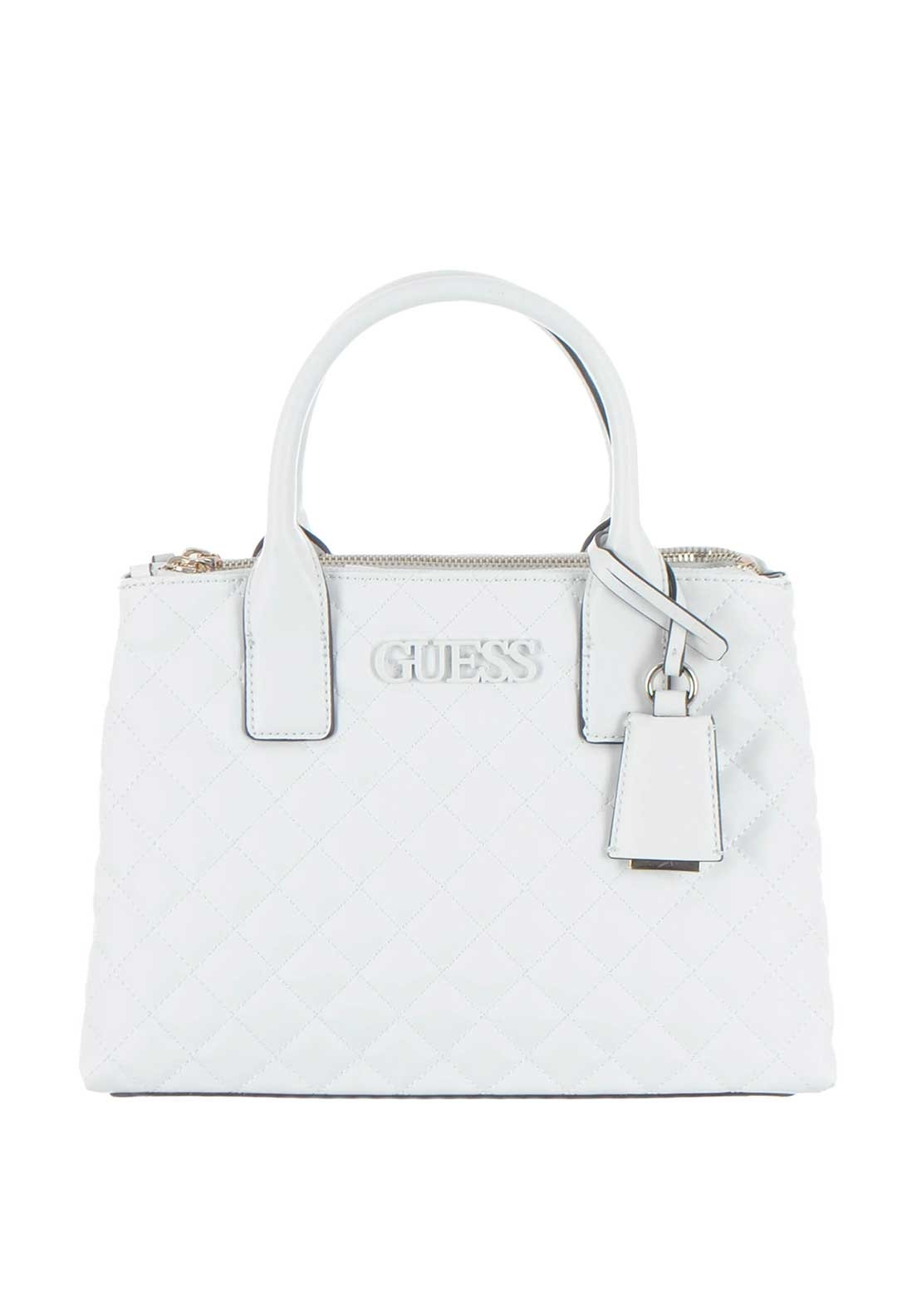 9ced1d00d9e356 Guess Elliana Quilted Grab Bag, White. Be the first to review this product