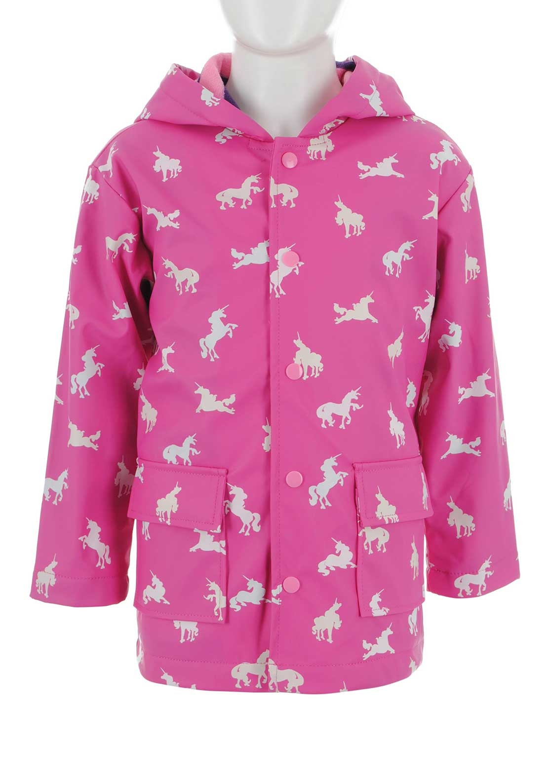 b7049948d Hatley Girls Colour Changing Unicorn Rain Coat, Pink. Be the first to  review this product