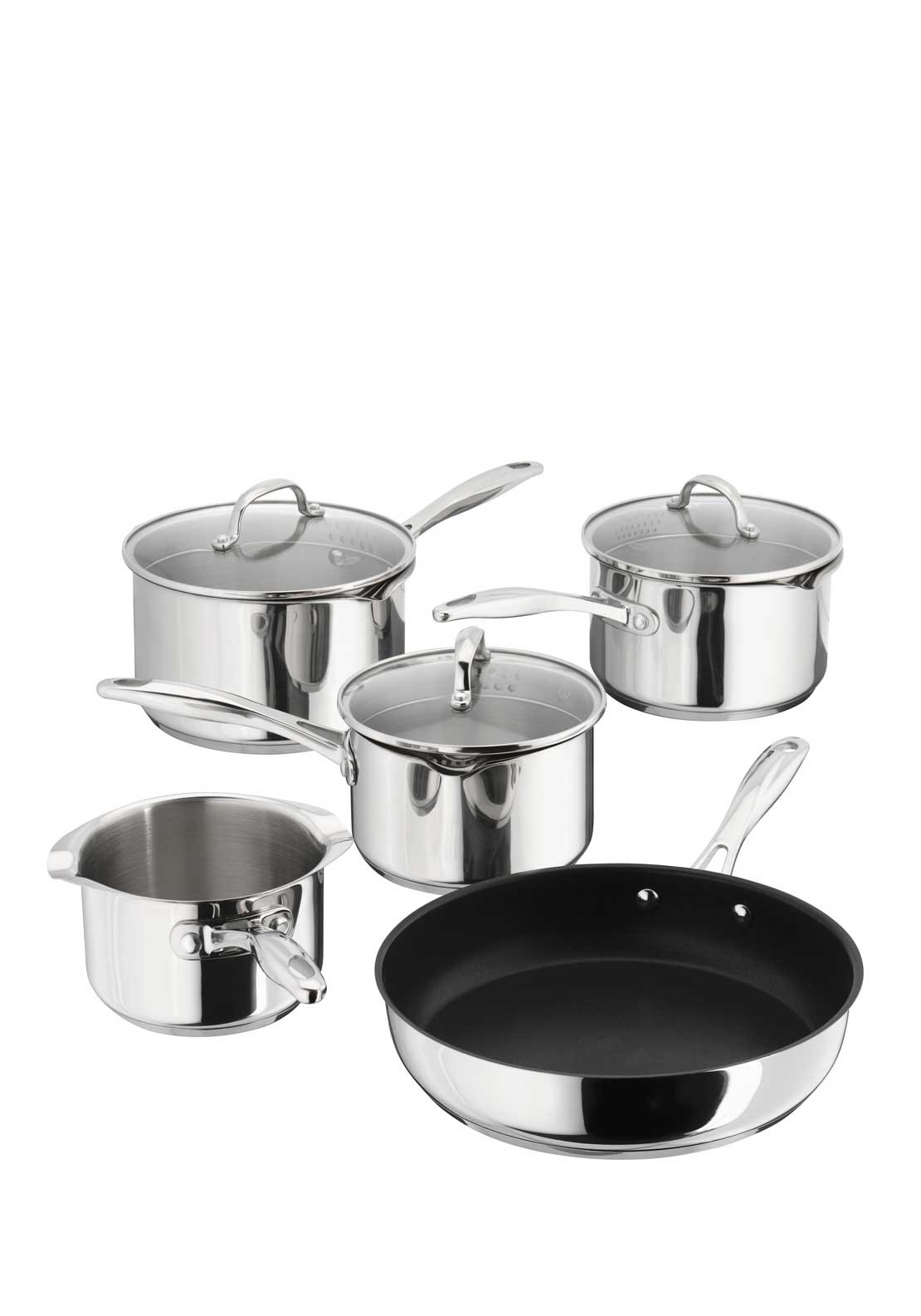 Stellar 5 Piece Induction Pan Set