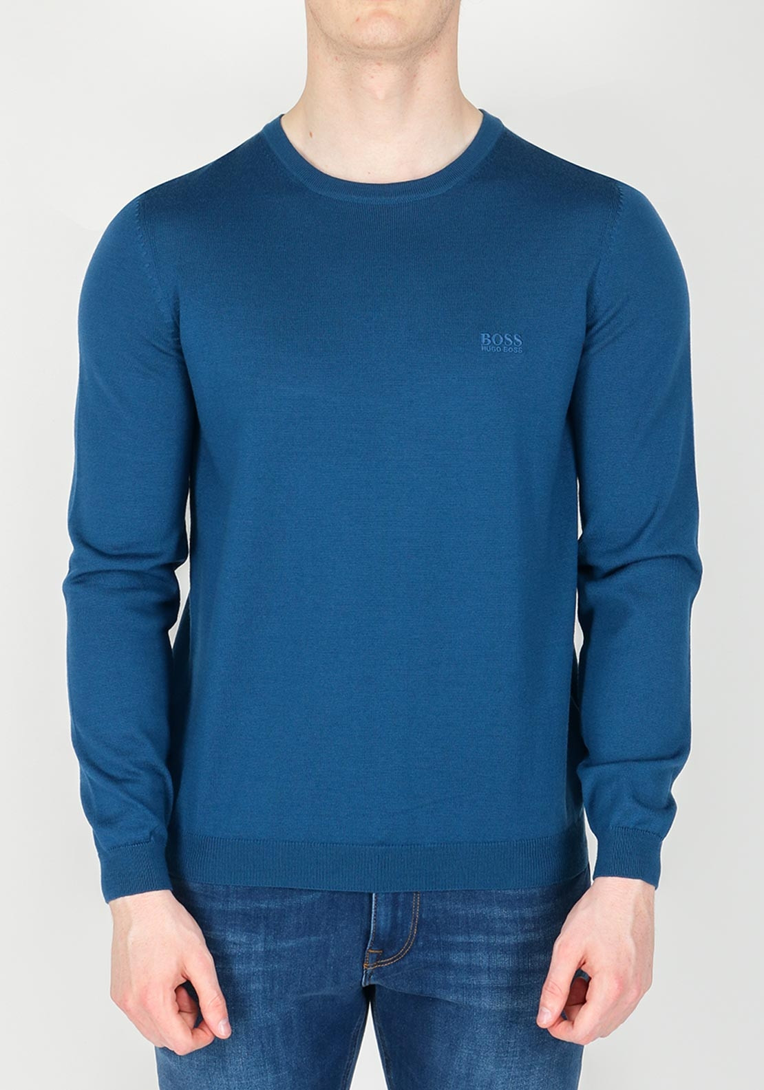 3ad6a7ca1 Hugo Boss Men's Caio Sweater Jumper, Blue. Be the first to review this  product