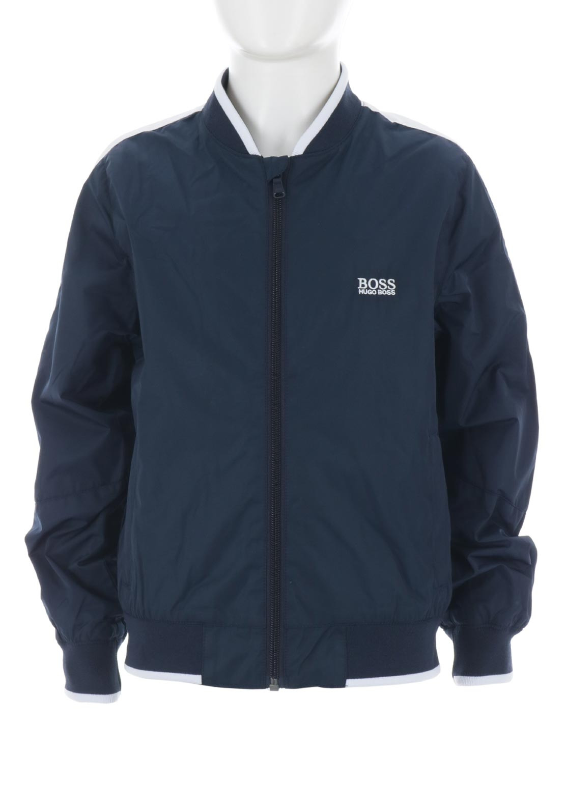 86daefd157 Hugo Boss Boys Shell Bomber Jacket, Navy. Be the first to review this  product