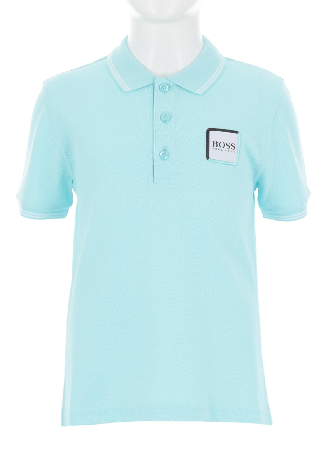 ab767ca0 Hugo Boss Boys Motif Polo Shirt, Blue. Be the first to review this product