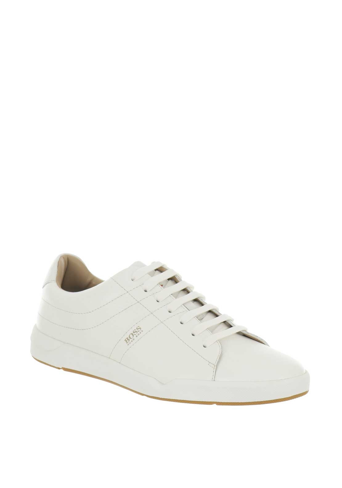 7679727c3026 Hugo Boss Stillness Tenn Trainers, White | McElhinneys