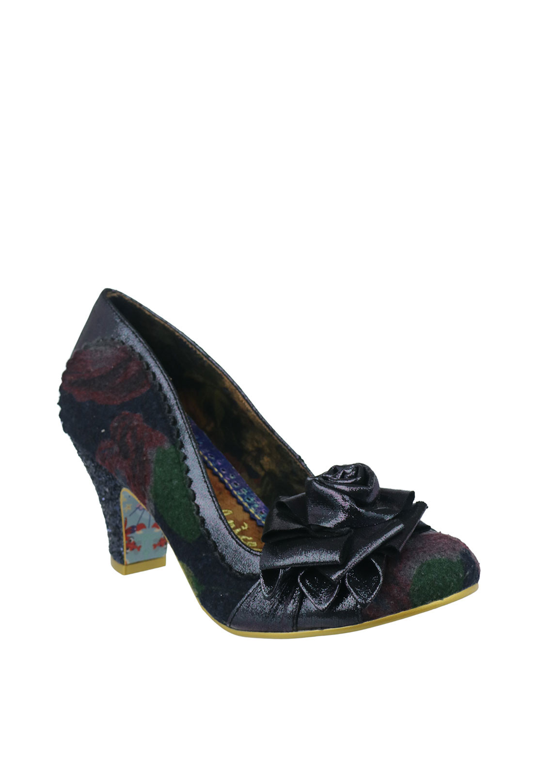 Irregular Choice Jola Heeled Shoes, Purple