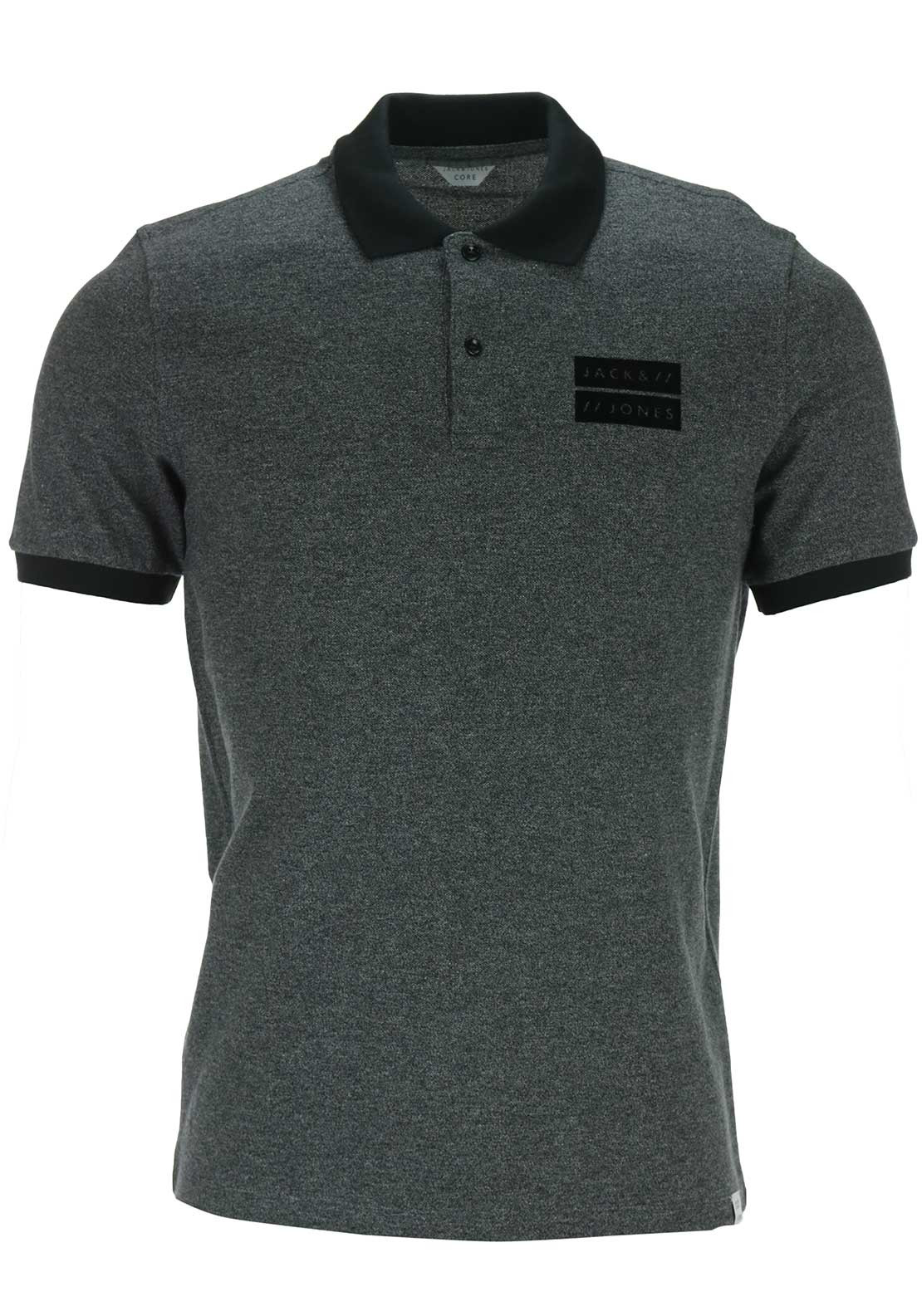 Jack & Jones Core Harry Polo Shirt, Grey