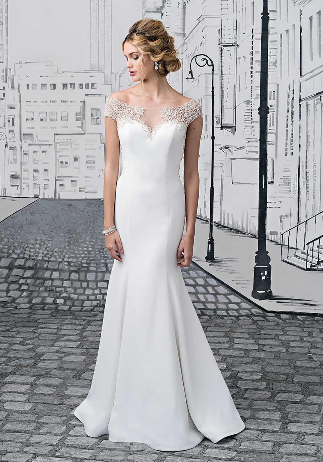 Justin Alexander 8878 Wedding Dress UK Size 12