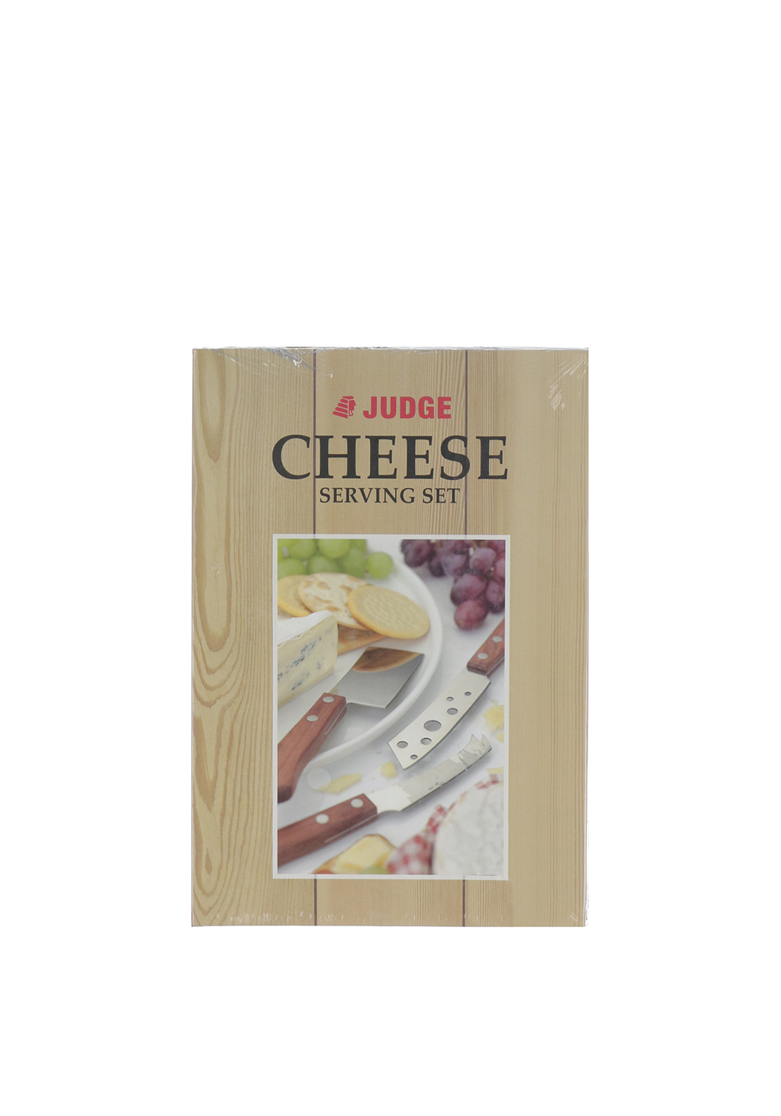 Judge 3 Piece Cheese Knife Serving Set