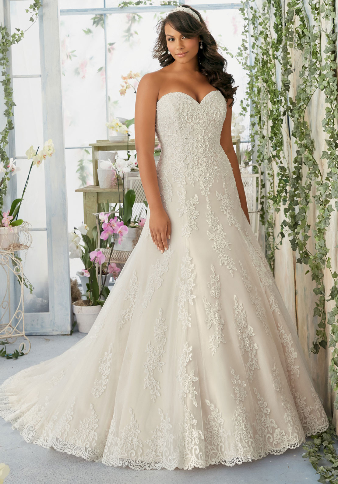 Julietta by Mori Lee 3196 Wedding Dress