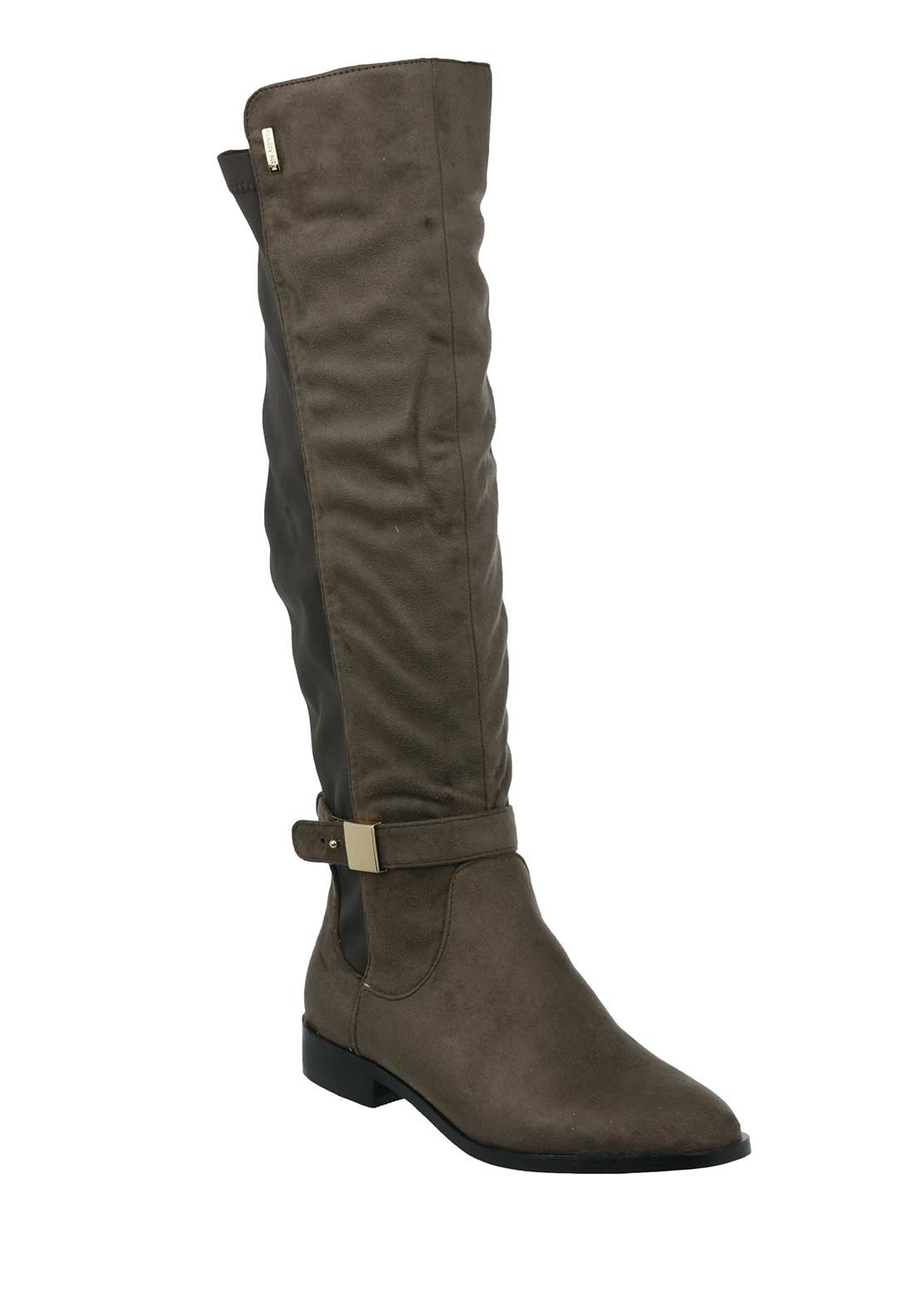 Kate Appleby Chelsea Manor Rider Boots, Taupe
