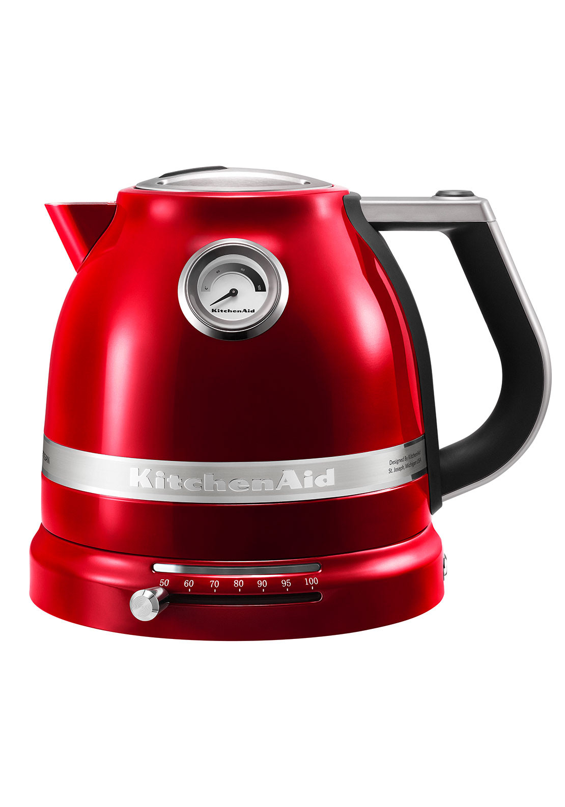 KitchenAid Artisan Kettle, Candy Apple Red 1.5L