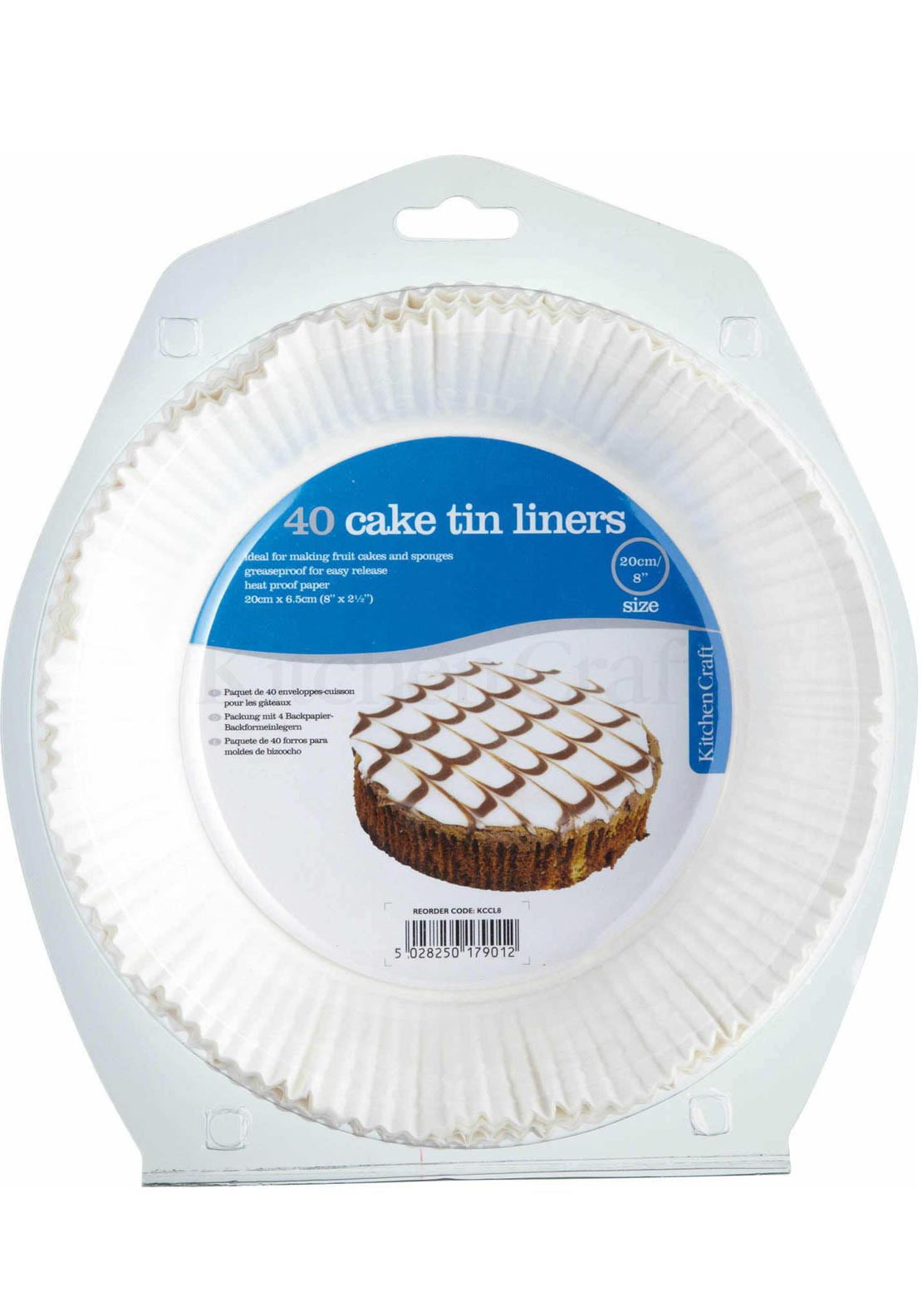 Kitchen Craft 40 Cake Tin Liners