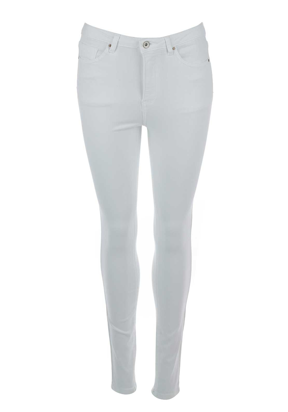 Boutique Skinny Jeans, White
