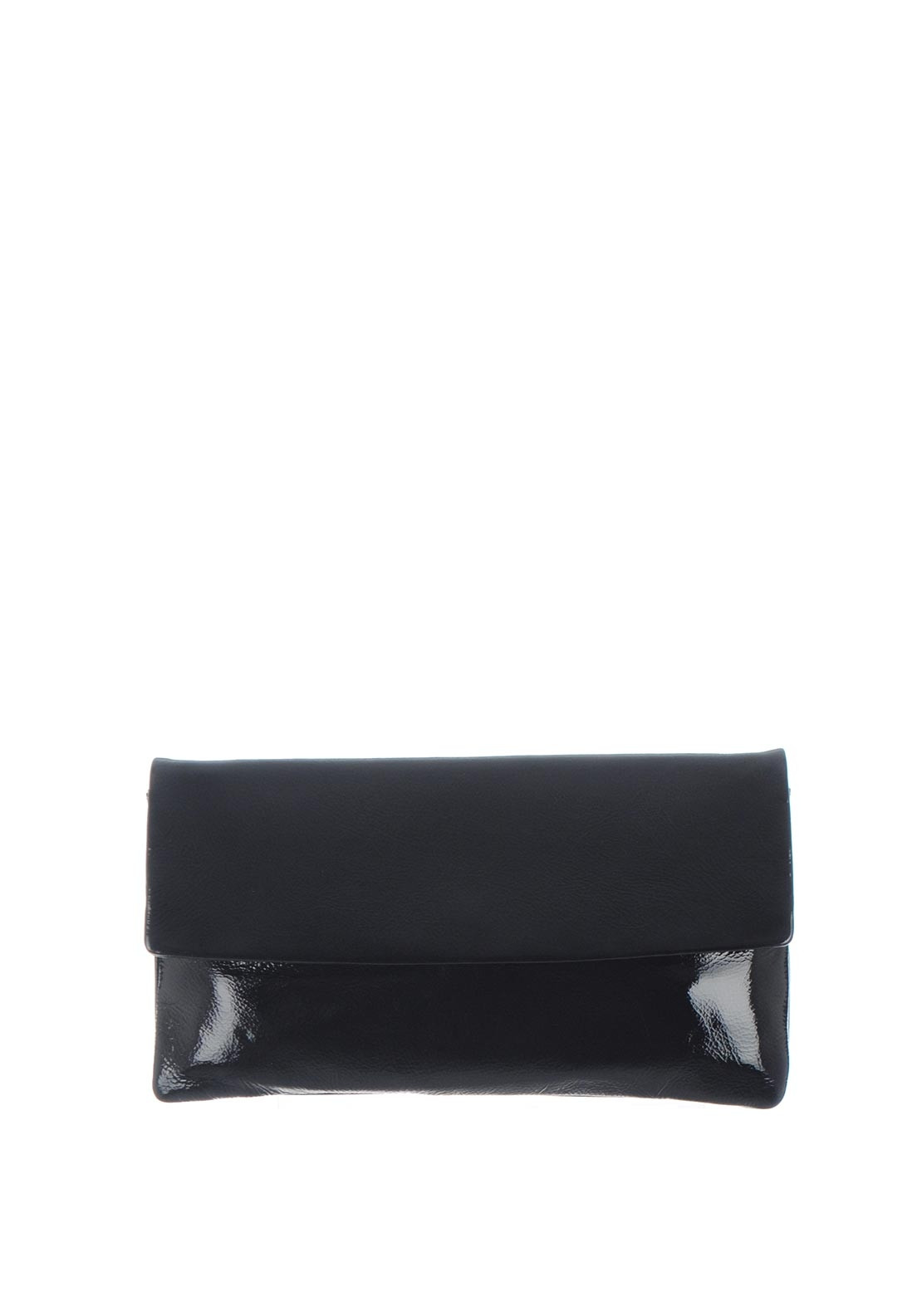 Le Babe Patent Leather Clutch Bag, Deep Navy