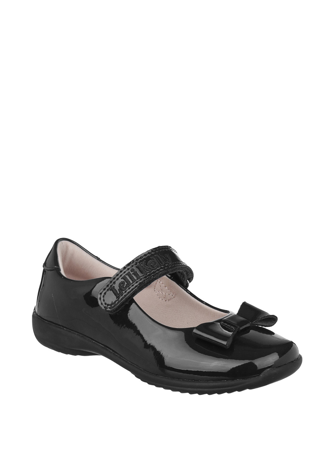 Lelli Kelly Girls Patent Leather Mary Jane School Shoes, Black