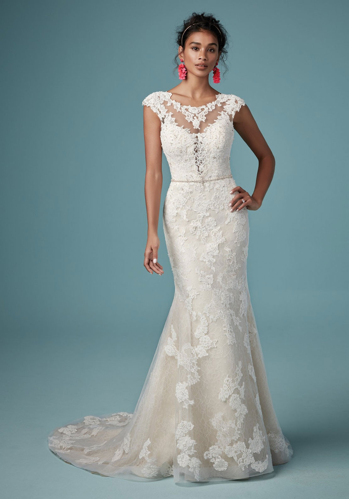 Maggie Sottero Clementine Wedding Dress Ivory Mcelhinneys