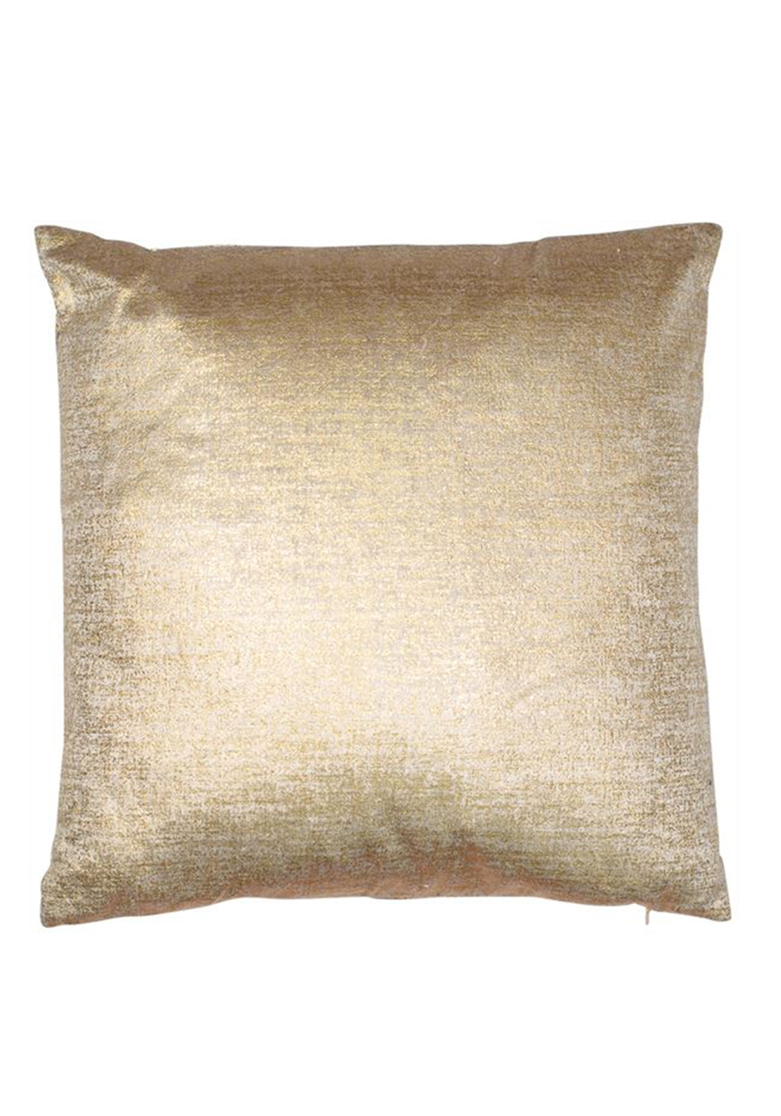 Malini Velvet Cushion, Matt Gold