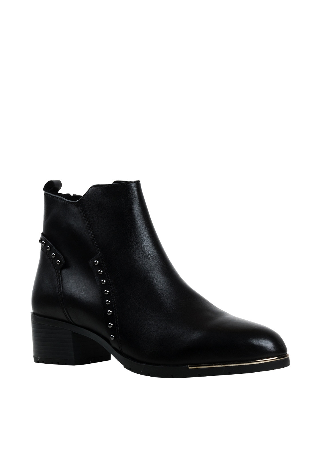 Marco Tozzi Womens Studded Boots, Black