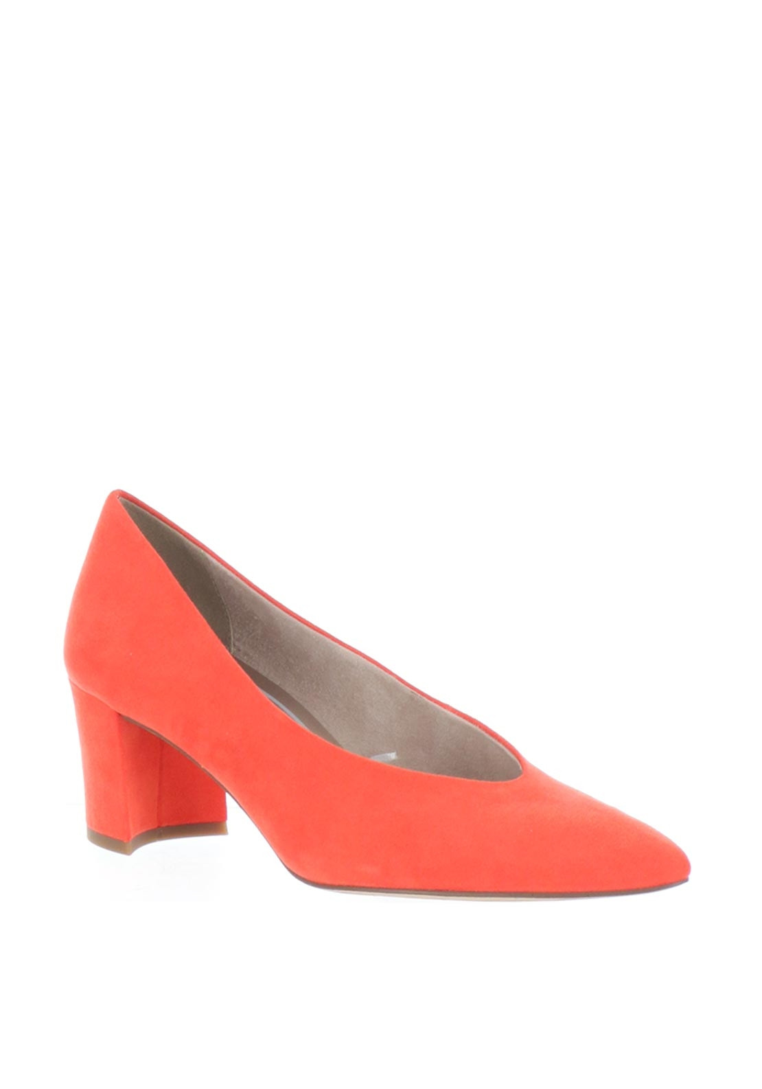 7c70d001036 Marco Tozzi Faux Suede Block Heel Shoes