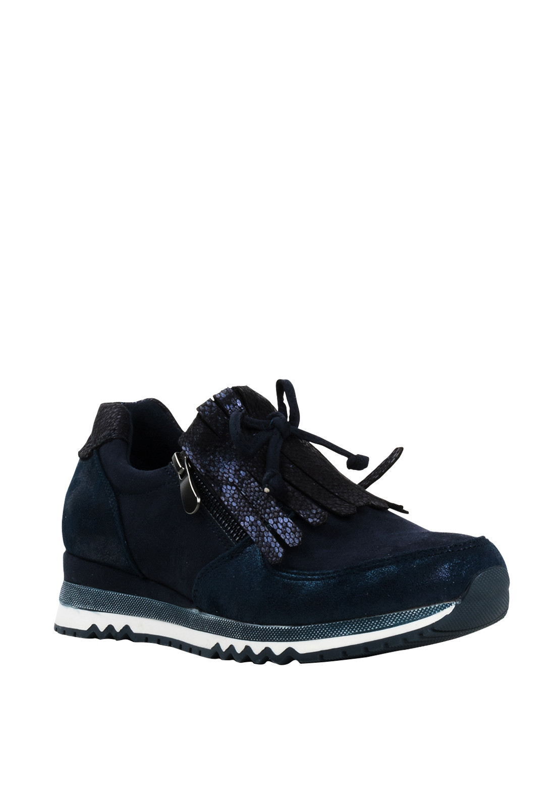Marco Tozzi Womens Wedge Trainers, Navy
