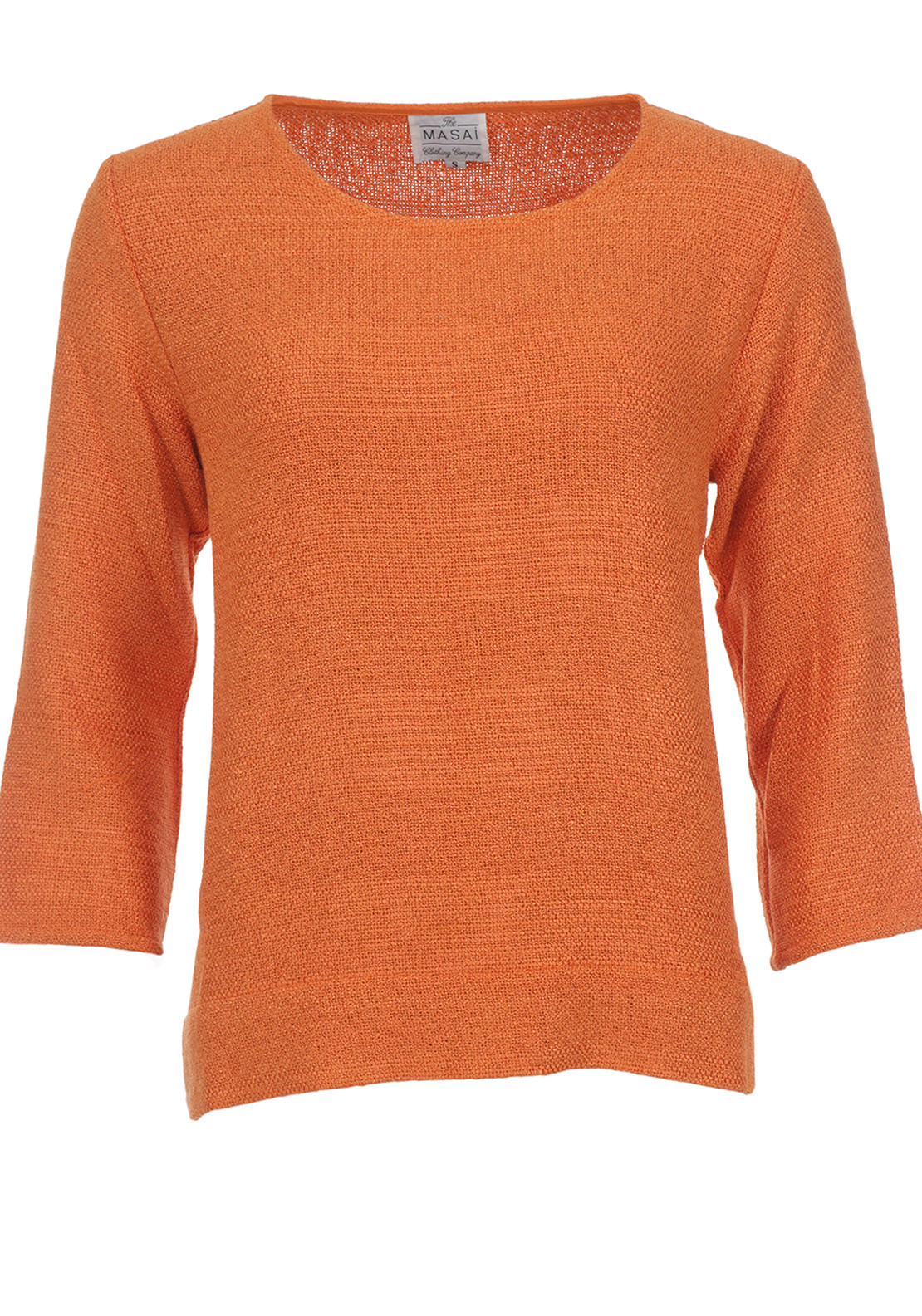 The Masai Clothing Company Blomsi Jumper, Orange