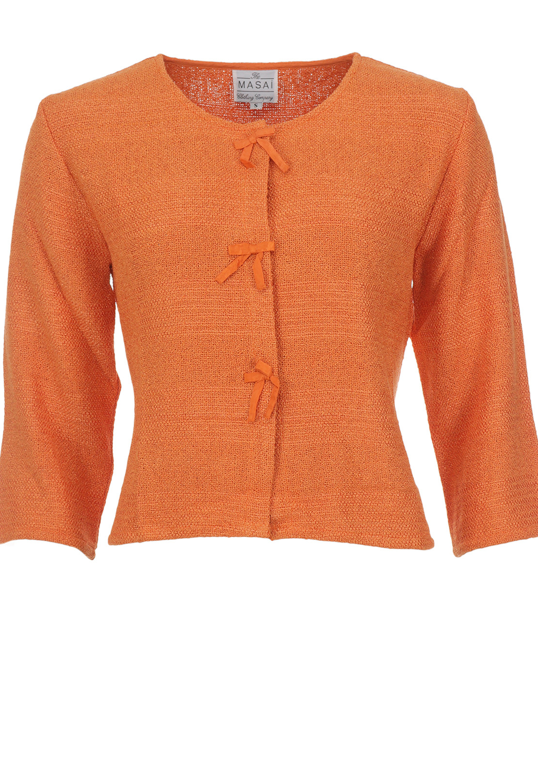 The Masai Clothing Company Justa Cardigan, Orange
