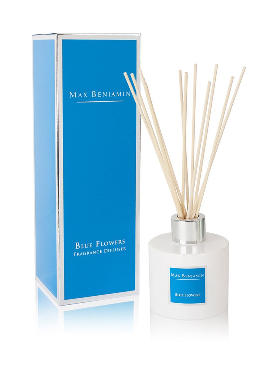 Max Benjamin Blue Flowers Natural Fragrance Diffuser 150ml