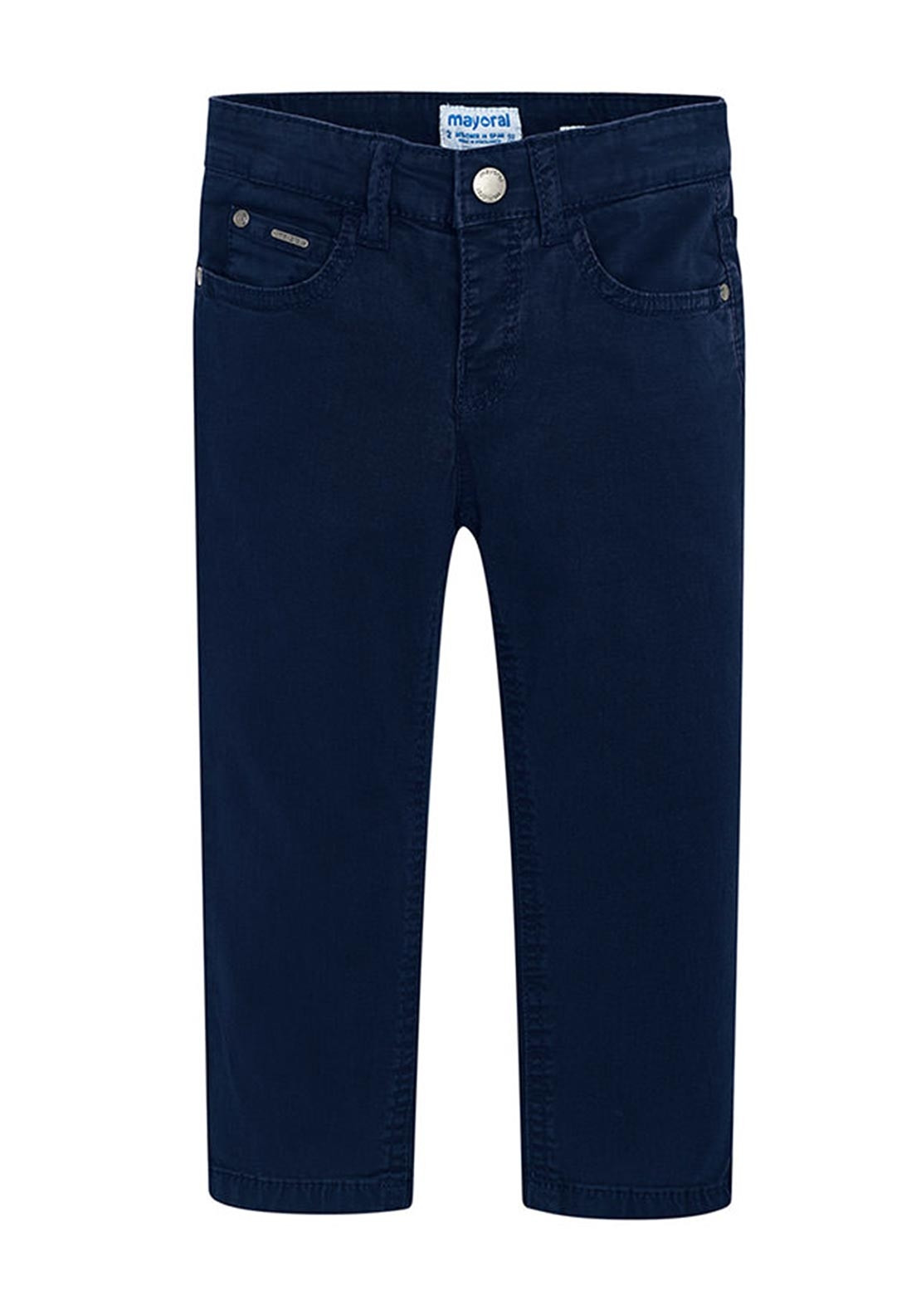 df497307bd Mayoral Boys Slim Fit Chino Trousers, Navy