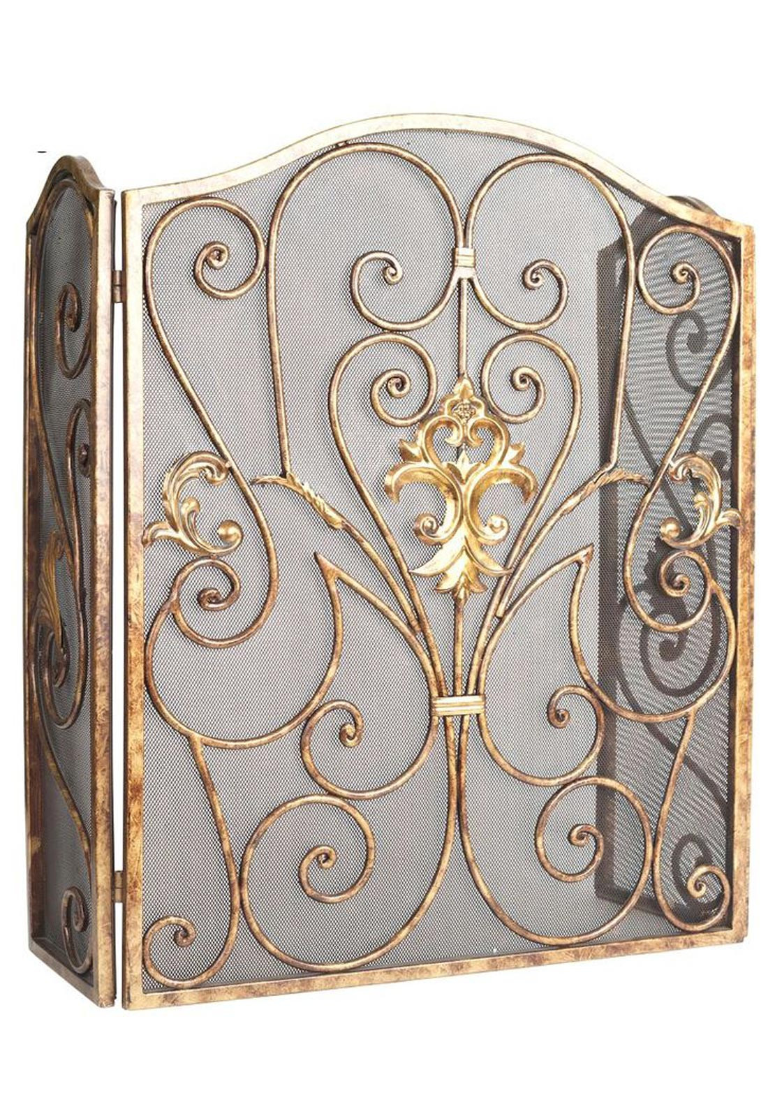 Mindy Brownes Fire Screen, Gold