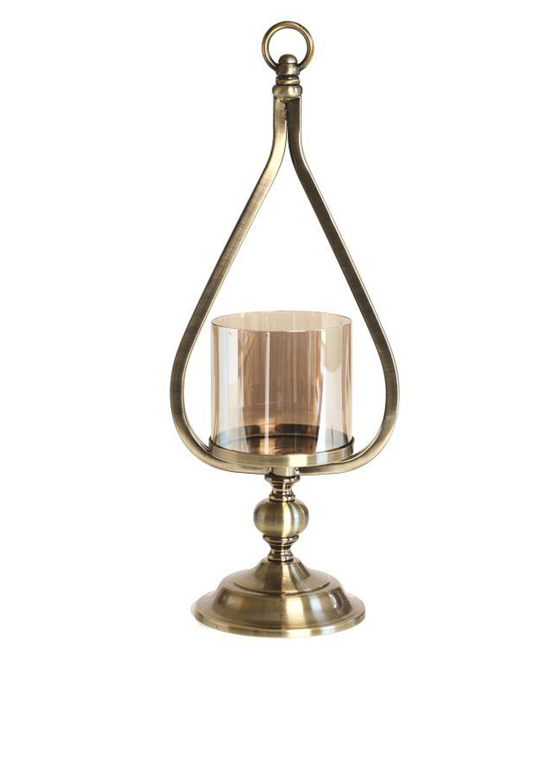 Mindy Brownes Deco Lantern Teardrop Design, 17 inches