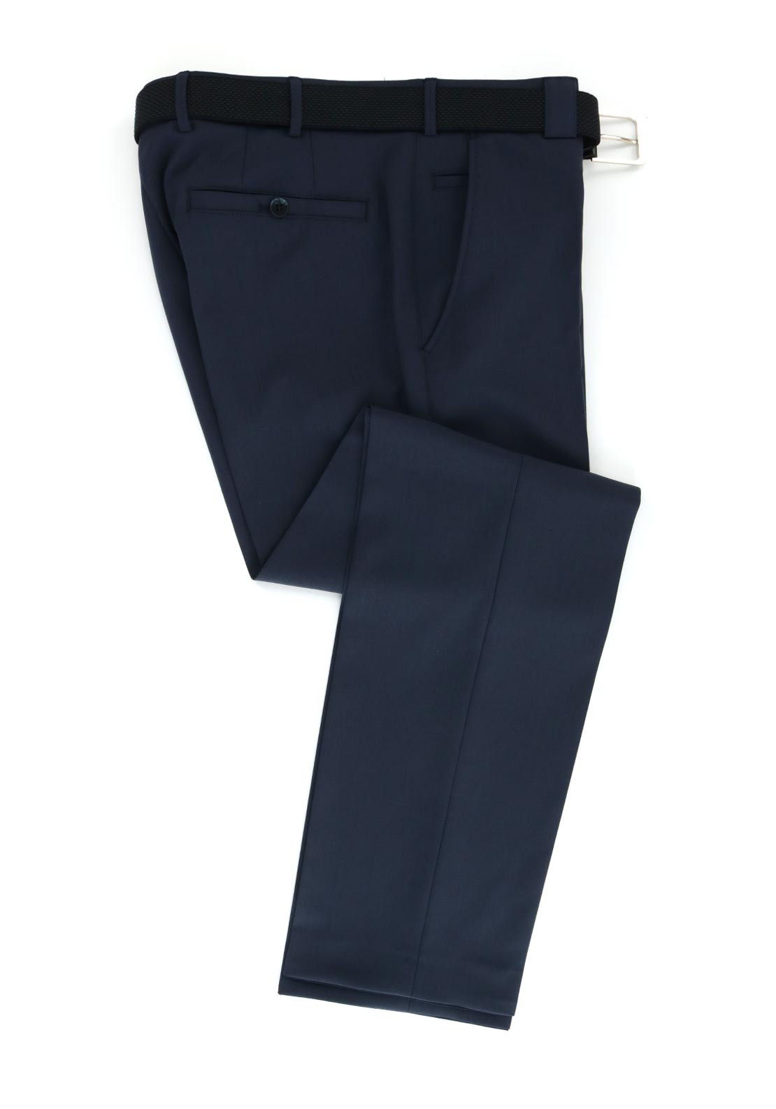Meyer Mens Roma Comfort Fit Formal Trouser, Navy