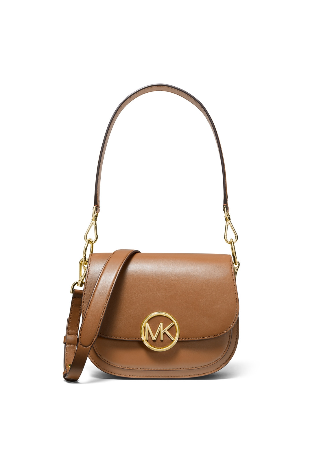 48a40c551896 MICHAEL Michael Kors Lillie Leather Saddle Bag, Acorn. Be the first to  review this product