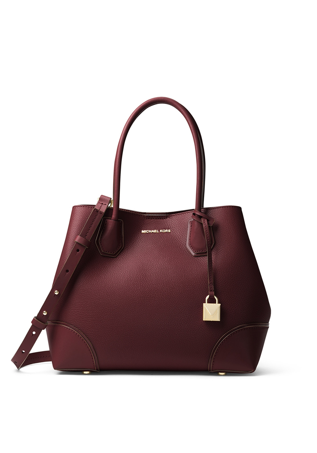 5614f40b8c55 MICHAEL Michael Kors Mercer Gallery Medium Leather Satchel Bag, Oxblood. Be  the first to review this product
