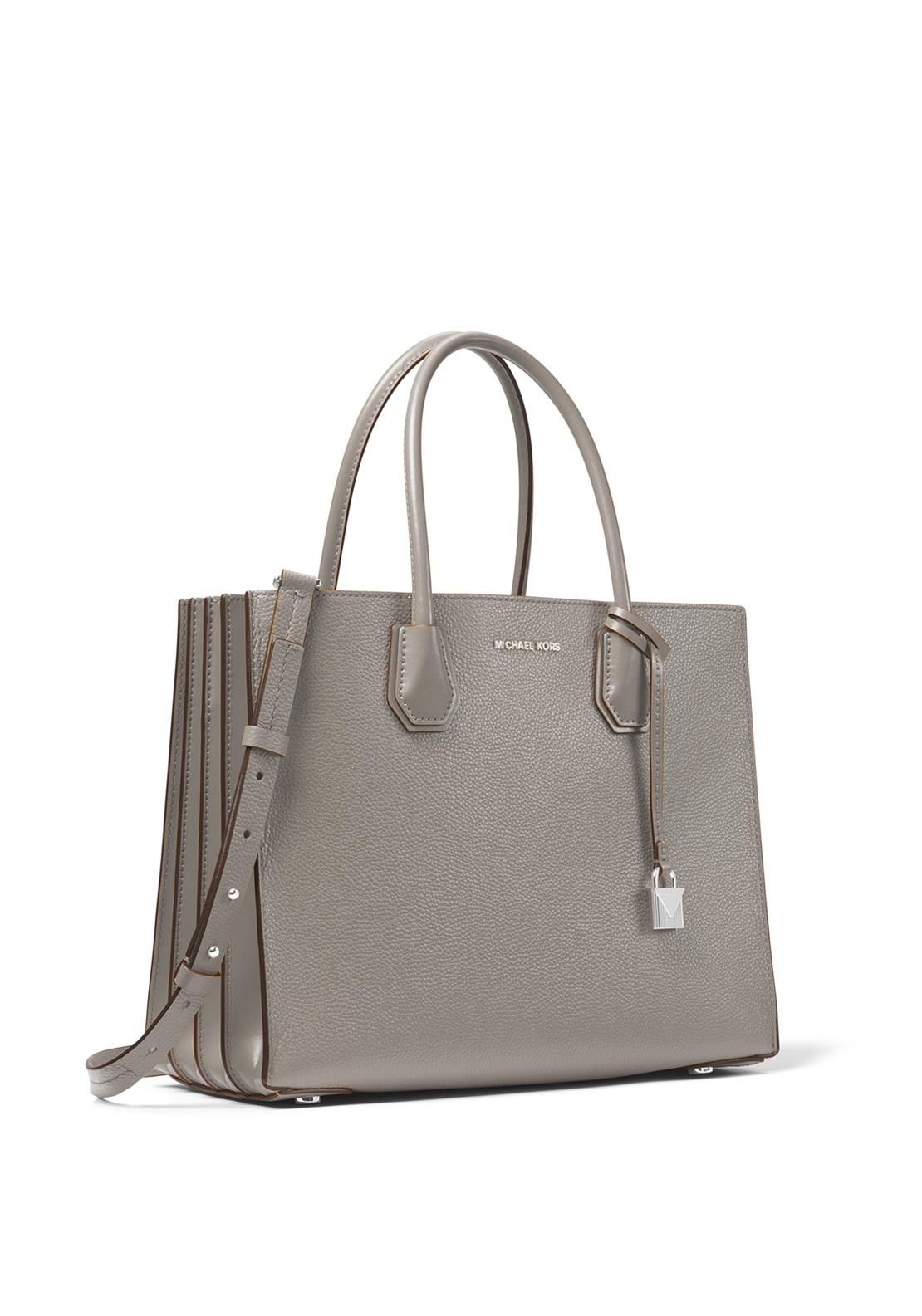 485f8b8fa Michael Kors Mercer Shoulder Bag, Pearl Grey. Be the first to review this  product