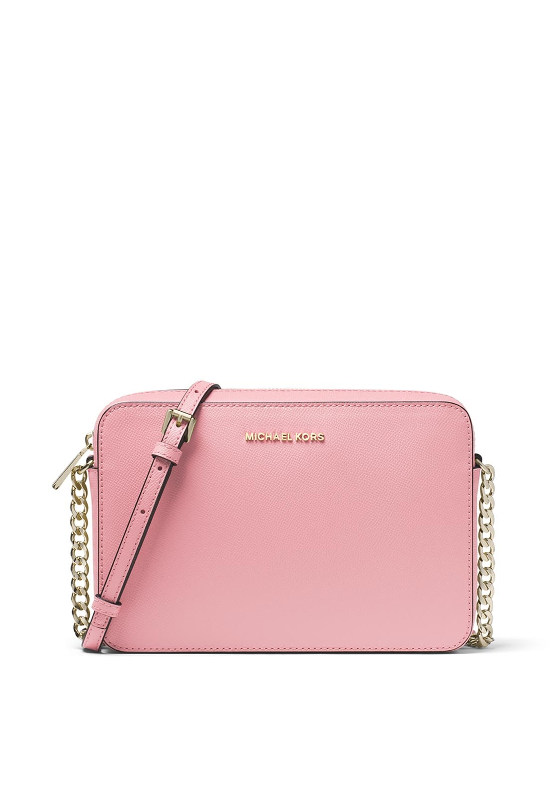 d8bbde4c2b62 Be the first to review this product. MICHAEL Michael Kors Jet Set Saffiano  Leather Crossbody Bag, Carnation