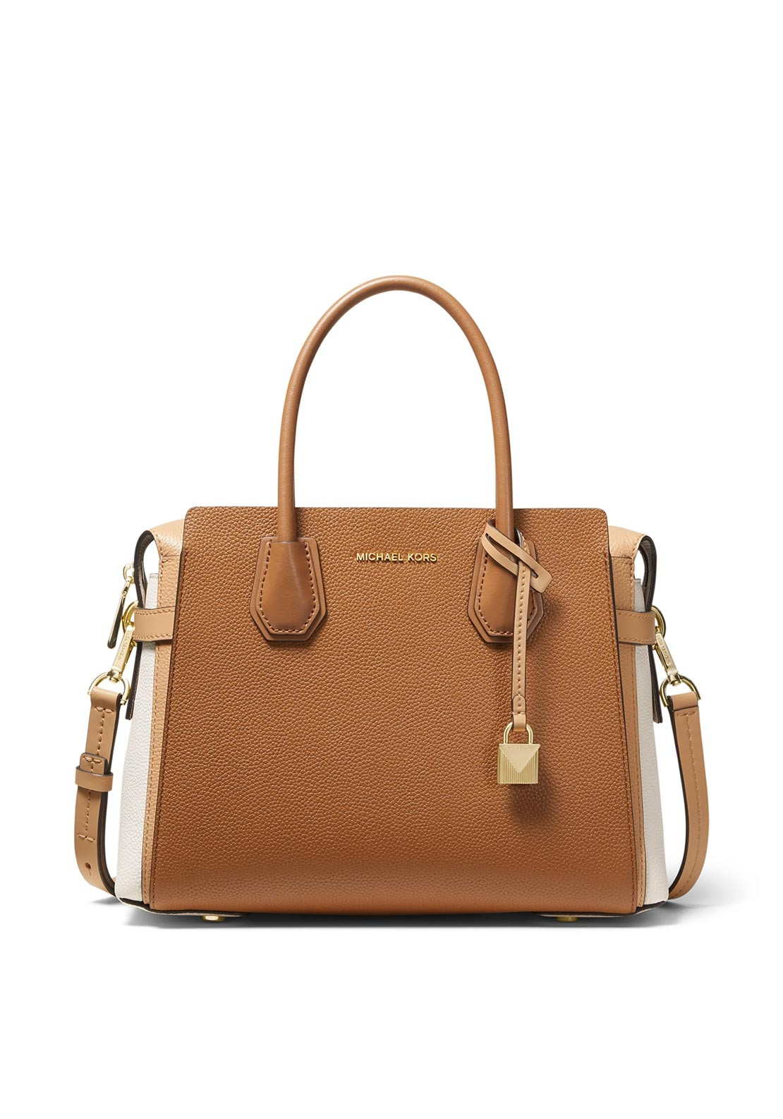 7fb838e0e765e8 MICHAEL Michael Kors Mercer Leather Grab Bag, Tan. Be the first to review  this product