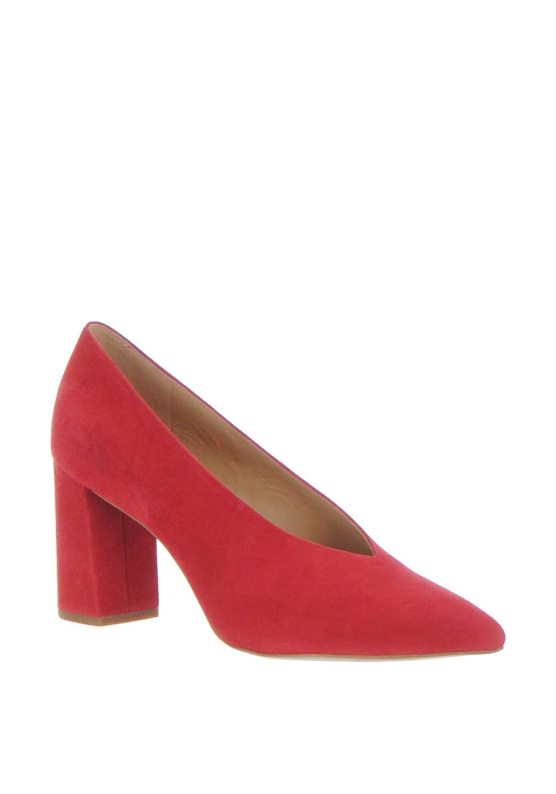 dd08a6c917ff ... MICHAEL Michael Kors Cambria Suede Court Shoes Red McElhinneys