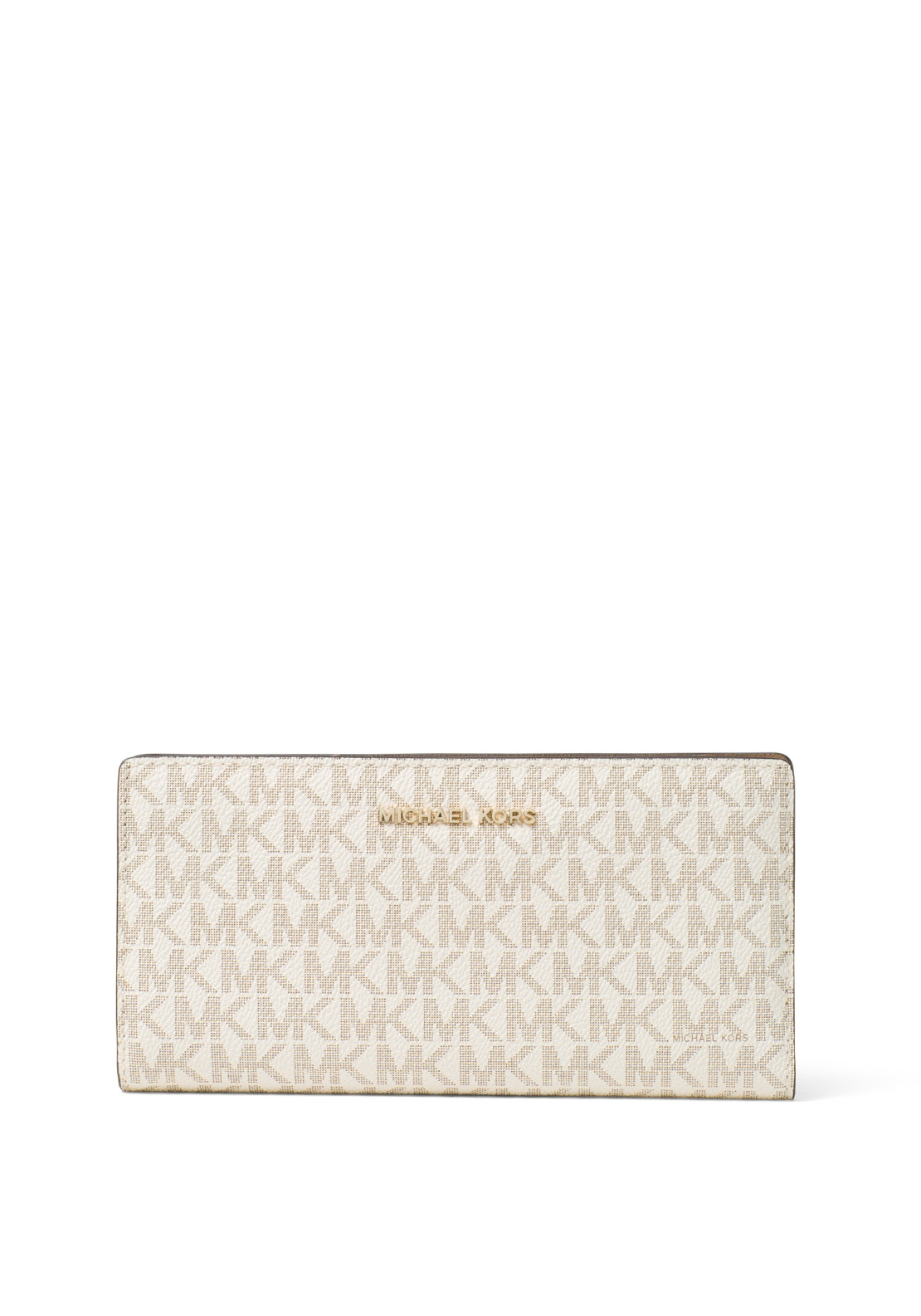 37e2aeef636e MICHAEL Michael Kors Slim Logo Wallet, Vanilla & Acorn. Be the first to  review this product