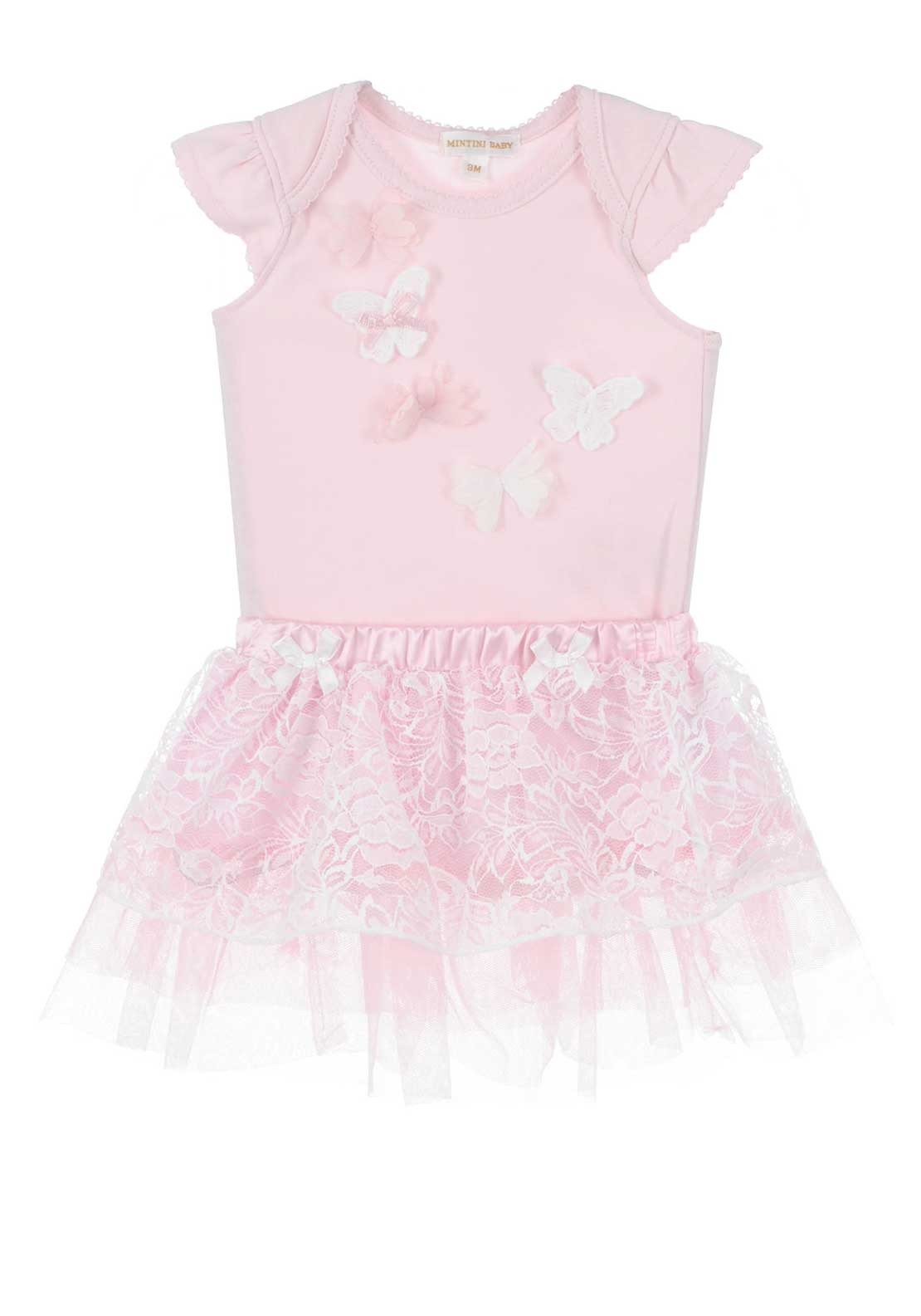 Mintini Baby Girls Bodysuit and Skirt c72cf0a1e9bf