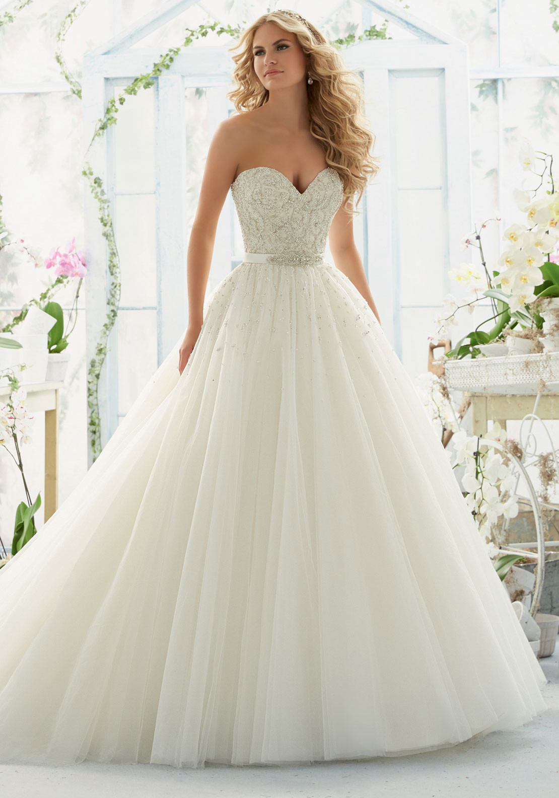 MORI LEE BRIDAL 14S IVO