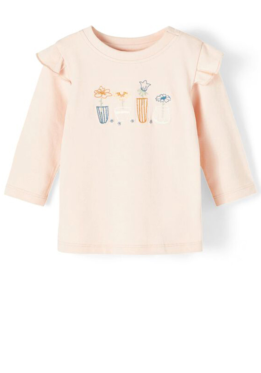 Name It Baby Girls Donna Top, Peach