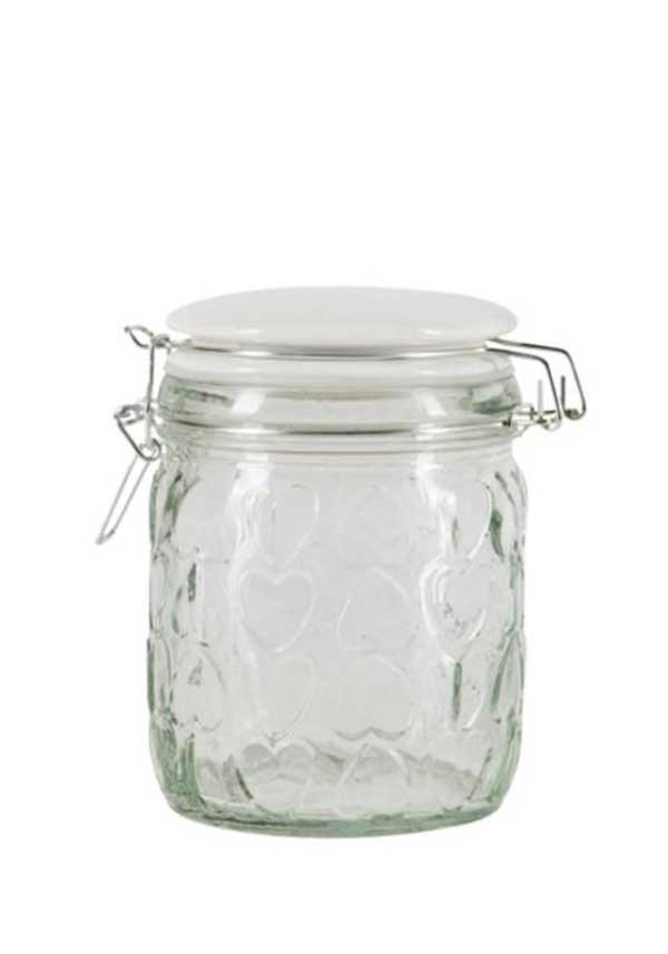 Beau & Elliot Small Confetti Embossed Storage Jar