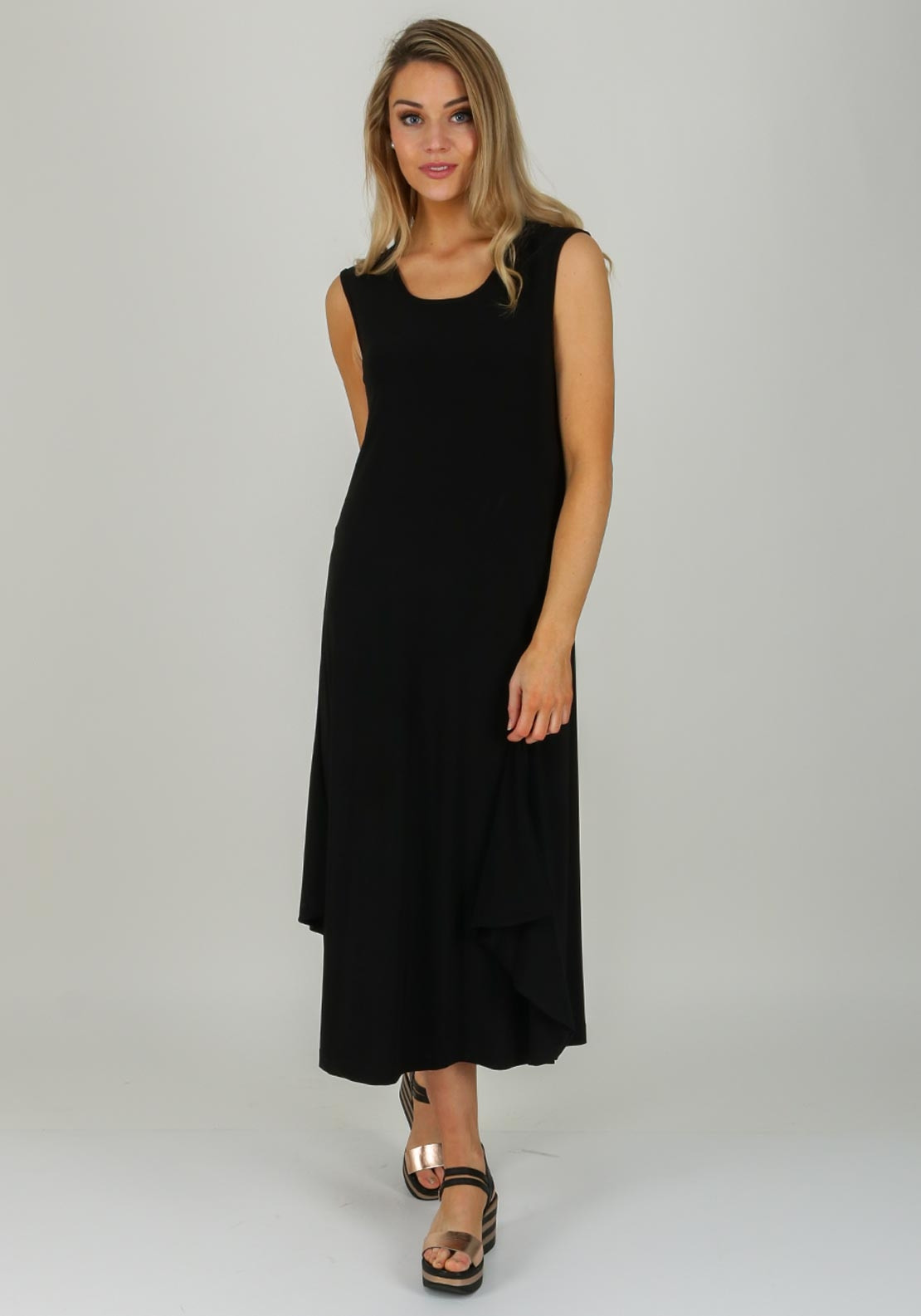 a6e42514a75 Naya Jersey Sleeveless Maxi Dress